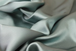 Sea Blue Silk Satin - 112cm wide