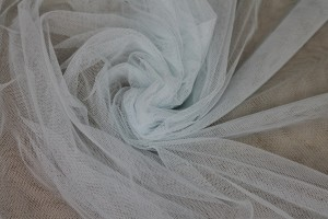 Soft Nylon Tulle - Baby Blue