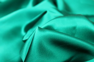 Peacock Green Silk Satin - 112cm wide