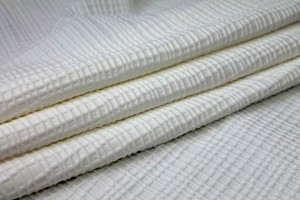 Check Weave Jersey - Ivory