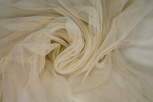 Soft Nylon Tulle - Rich Cream - T4