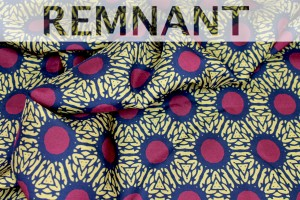 REMNANT - Printed Silk Fabric - 3.2m piece