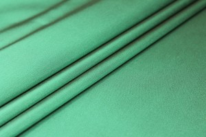 Stretch Duchesse Satin - Green