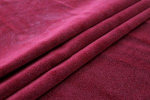 Heavy Cotton Velvet - Burgundy