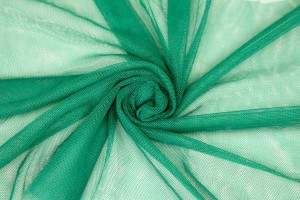 Soft Nylon Tulle - Emerald - T21