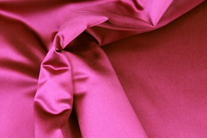 Silk Duchesse Satin - Berry / Magenta