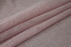 Sparkly Soft Mesh Fabric - Pale Pink