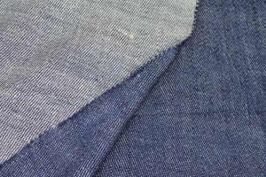 Soft and Drapy Denim - Textured Raw Navy