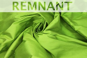 REMNANT - Silk Dupion - Lime Green - WHOLE 2.75m piece