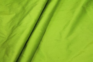Silk Dupion - Lime Green