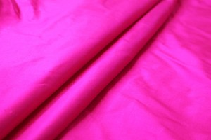 Silk Dupion - Bright Pink