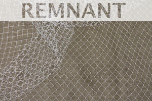 REMNANT - Large Net - Ivory - 2.6m piece
