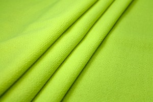 Double Wool Crepe - Neon Yellow
