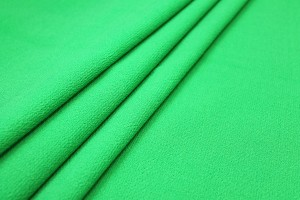 Double Wool Crepe - Bright Green