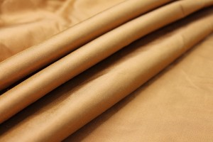 Silk Dupion - Burnt Sienna