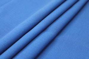 Double Wool Crepe - Royal Blue