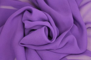 Purple Silk Georgette - 112cm wide