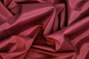 Stretch Anti-Static Lining - Deep Red