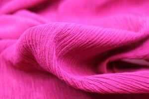 Pleated Silk and Cotton - Pink