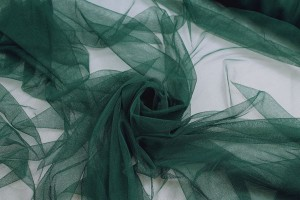 Soft Nylon Tulle - Bottle Green - T22