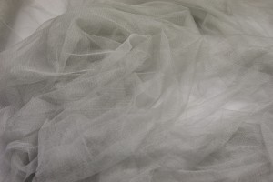 Soft Silk Tulle - Dove Grey