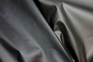 P.U. Coated Nylon - Black