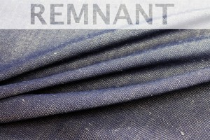 REMNANT - Japanese Denim - Double Sided Blue - 0.6m piece