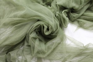 Soft Nylon Tulle - Olive Green - T23
