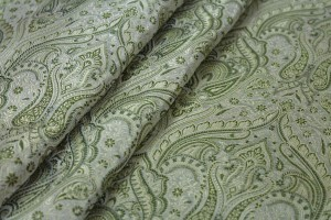 Banaras Brocade - Pale Greens