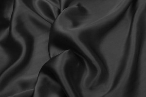 Black Silk Satin - 140cm wide