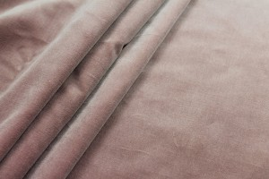 Heavy Cotton Velvet - Dusty Pink