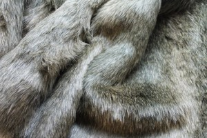 Faux Fur - Natural Brown Grey