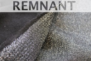 REMNANT - Glittery Wool Knit - Silver - 1.5m piece