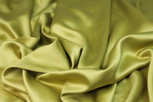 Bamboo and Modal Mix Satin - Lime