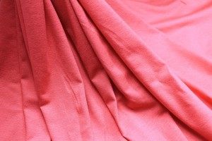 Soft Viscose Jersey - Coral