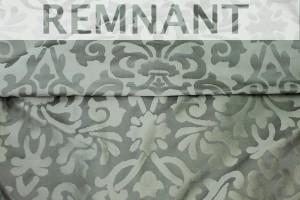 REMNANT - Silk Brocade - Pale Green - 2.7m piece
