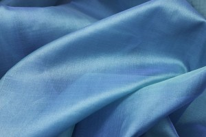 Silk Organza - Teal Two Tone