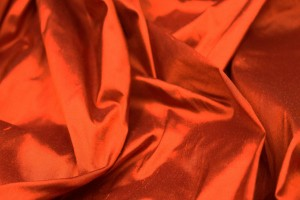 Silk Dupion - Burnt Orange - B19