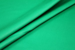 Stretch Wool Venetian - Emerald Green