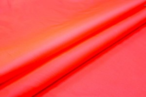 Neon Poly Taffeta - Pink Orange