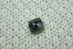 Green/Sage Marbled Resin Button