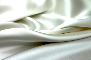 Double Sided Satin - Ivory