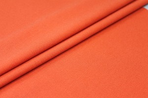 Wool Crepe - Orange