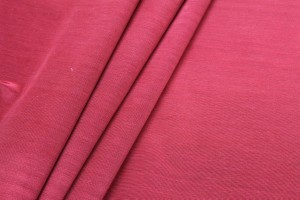 Cotton Viscose Grosgrain - Red