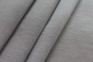 Cotton Viscose Grosgrain - Steel Grey