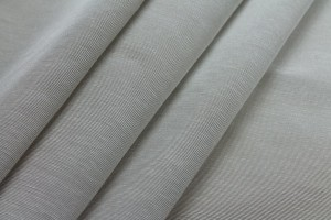 "Cotton Viscose Grosgrain - ""Cloud"""
