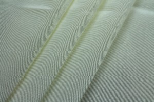 Cotton Viscose Grosgrain - Ivory