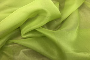 Silk Organza - Lime Green
