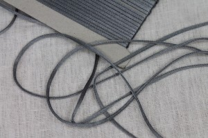 Polyester Lacing Cord - Grey - 21m roll