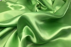 Lime Satin Lining